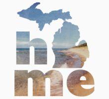 Michigan Home Kids Tee