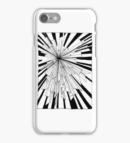 Graphic Explosion iPhone Case/Skin