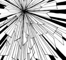 Graphic Explosion Sticker