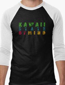Kawaii - state of mind Men's Baseball ¾ T-Shirt