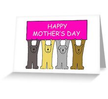 Happy Mother's Day from the Dogs Greeting Card