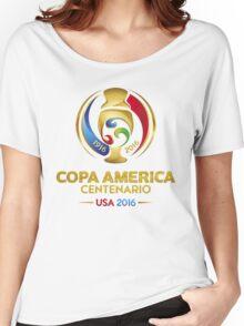 Copa America Centenario Usa 2016 best logo Women's Relaxed Fit T-Shirt