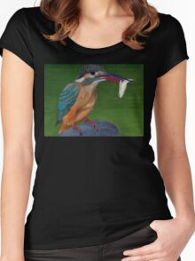 kingfisher Women's Fitted Scoop T-Shirt