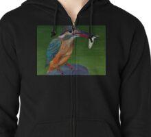 kingfisher Zipped Hoodie