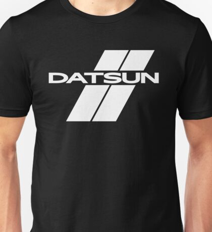 Datsun Stripes (White) Unisex T-Shirt