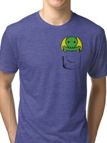Cute Cthulhu Tri-blend T-Shirt