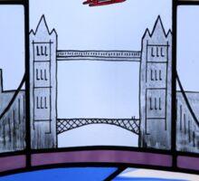 London Panorama Sticker