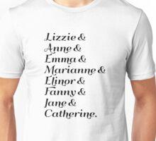 Austen's Heroines Unisex T-Shirt