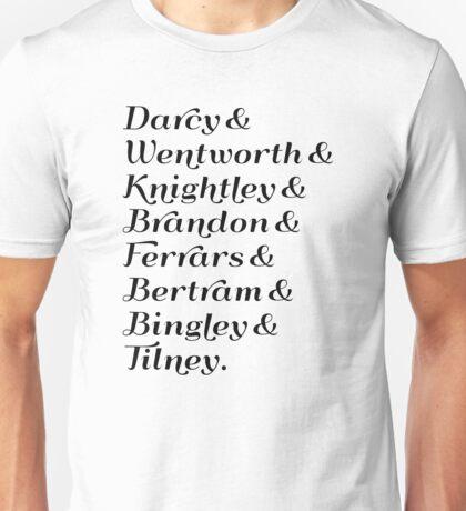 Austen's Heroes Unisex T-Shirt