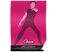 Grease Travolta - Movie Poster Poster