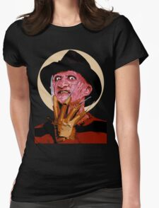 Freddy Krueger - A Nightmare on Elm Street Womens Fitted T-Shirt