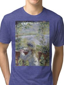 Renoir Auguste - By The Water Tri-blend T-Shirt