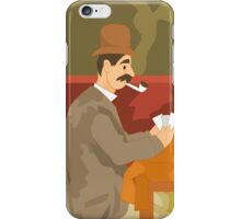 Card Players iPhone Case/Skin