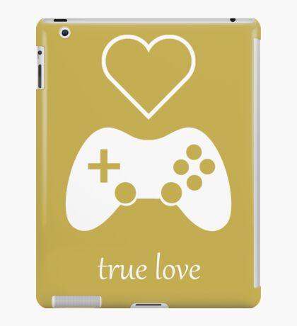 Video Gamer - True Love iPad Case/Skin