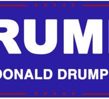 Drumpf 2016 Sticker