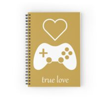 Video Gamer - True Love Spiral Notebook