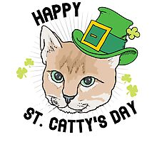 Happy St. Catty's day Photographic Print