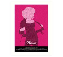 Grease Olivia - Movie Poster Art Print