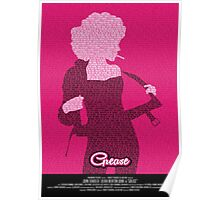 Grease Olivia - Movie Poster Poster
