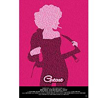 Grease Olivia - Movie Poster Photographic Print