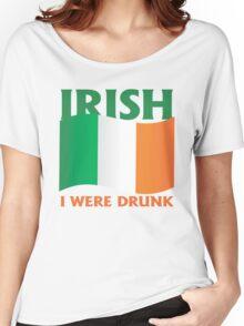 Irish I were drunk Women's Relaxed Fit T-Shirt