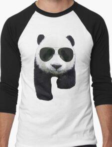 Cool Panda Bear Men's Baseball ¾ T-Shirt