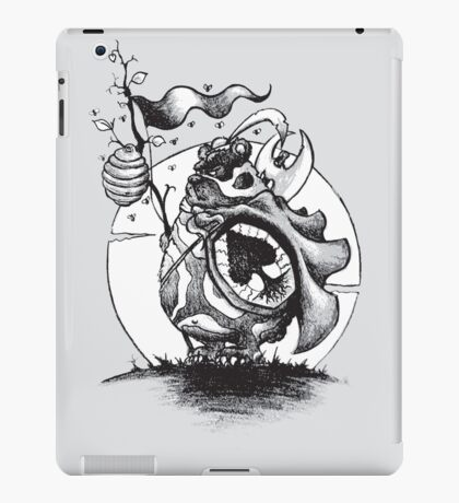 Nature Warriors: Honey Bear iPad Case/Skin