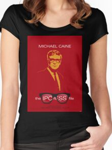 The Ipcress File - Movie Poster Women's Fitted Scoop T-Shirt