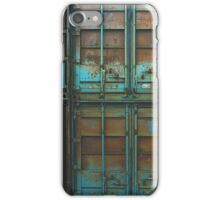 Rusty container iPhone Case/Skin