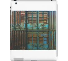 Rusty container iPad Case/Skin