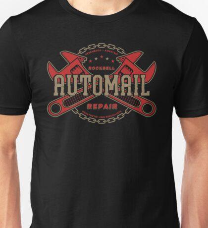 Rockbell Automail Repair (Upgrade) Unisex T-Shirt