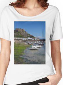 Mont Orgueil, Gorey, Jersey Women's Relaxed Fit T-Shirt