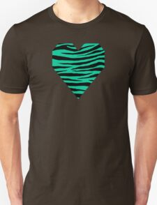 0109 Caribbean Green Tiger Unisex T-Shirt