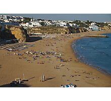 Pescadores Beach in Albufeira Photographic Print