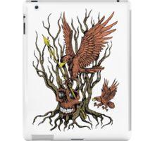 Eagles Skull Tree Spear iPad Case/Skin