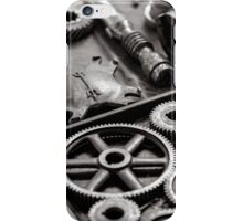 Old gears iPhone Case/Skin