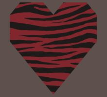 0110 Heidelberg Red or Carmine Tiger One Piece - Short Sleeve