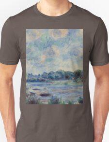 Renoir Auguste - Landscape At Beaulieu Unisex T-Shirt