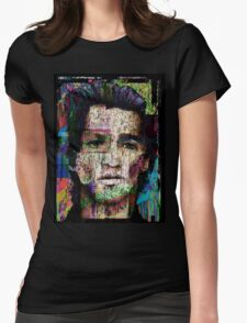 Self Portrait as Another Womens Fitted T-Shirt