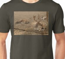 Three Deer Resting Unisex T-Shirt
