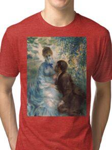 Renoir Auguste - Lovers Tri-blend T-Shirt