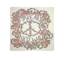 make love not war Scarf