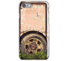 Old truck renault iPhone Case/Skin