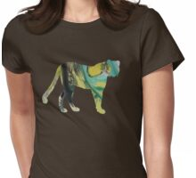 cheetah  Womens Fitted T-Shirt