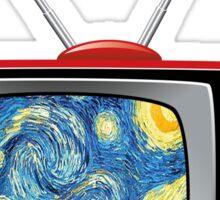 TV Van Gogh Sticker