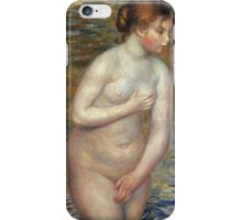 Renoir Auguste - Nude In The Water iPhone Case/Skin