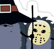 Halloween party crew Sticker