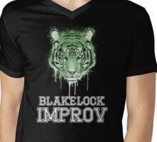 Blakelock Improv Mens V-Neck T-Shirt