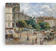Renoir Auguste - Place De La Trinite Canvas Print