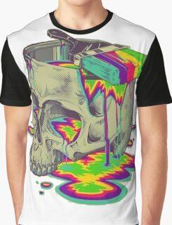 skull painted Graphic T-Shirt